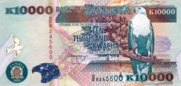 """ZAMBIA 10000 KWACHA 2001 EXF P-42b """"free Shipping Via Registered Air Mail"""" - Zambia"""