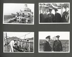 Deutsches Reich - 3. Reich: This Is An Original Embossed Panzerschiff Deutschland Photo Album, 15x11 - Deutschland