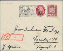 Deutsches Reich - 3. Reich: 1923/1932, EINSCHREIBE-POST, Gehaltvoller Sammlungsbestand Mit über 50 B - Deutschland
