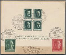Deutsches Reich - 3. Reich: 1927/1939, Partie Von 22 Briefen Und Karten, Meist Schiffspost Bzw. Fran - Deutschland