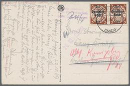Deutsches Reich - 3. Reich: 1933/1945, Umfassende Sammlung Von Ca. 1.250 Briefen Und Karten, Augensc - Deutschland