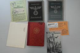Deutsches Reich - 3. Reich: 1933/1945. Ausweise, Arbeitsbücher, Kennkarten, Dokumente, Etc Aus Dem D - Deutschland