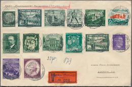 Deutsches Reich - 3. Reich: 1933-1945: Gut Gefüllte Schachtel Mit Einigen Hundert Briefen, Karten Ga - Deutschland