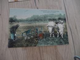 CPA 60 Oise Liancourt établissement Brabant établissements Bajac Brabant Double En Manoeuvre Agriculture - Liancourt