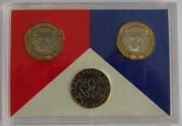 28453g TX - MONNAIE DE PARIS - FLEURS DE COINS 1989 - Francia