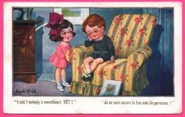 Illustration DONALD MC GILL - Je Ne Suis Encore Le Bon Ami De Personne - COMIQUE Series - Enfant - 1922 - Mc Gill, Donald