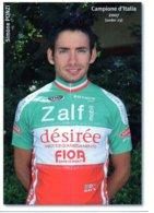 Cartes Postale Cyclisme Simone Ponzi 2007 - Wielrennen