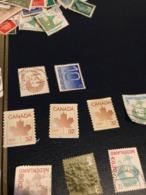 CANADA FOGLIA ACERO - Briefmarken
