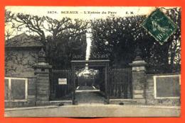 """CPA 92 Sceaux """" L'entrée Du Parc """" - Sceaux"""