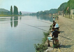 Wepion Sur Meuse - L ' Incomparable Douceur Mosane (pêcheurs à La Ligne) - Belgique