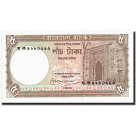 Billet, Bangladesh, 5 Taka, Undated (1981), Undated, KM:25a, NEUF - Bangladesh