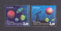 Bosnia And Herzegovina Croatian (Mostar) 2009 Europa CEPT - Astronomy MNH - Europa-CEPT