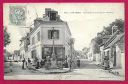 CPA Louviers - Carrefour De La Croix De Beaulieu - Louviers