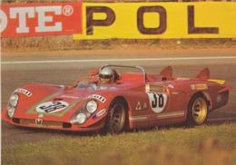 ALFA ROMEO 33-3  ( 1970 ) Carte Format 20 X 15 ) - Grand Prix / F1