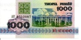 Belarus  Billet Banknote 1992 - 1000 Roubles TBE - Belarus