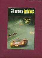 041019 - SPORT AUTOMOBILE - PROGRAMME 24 Heures DU MANS 1971 39e Grand Prix D'endurance - Car Racing - F1
