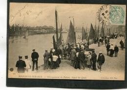 CPA - BOULOGNE SUR MER - Débarquement Du Poisson, Aspect Des Quais, Très Animé - Boulogne Sur Mer
