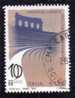 ITALIA REPUBBLICA ITALY REPUBLIC 2013 FESTIVAL LIRICO DELL'ARENA DI VERONA € 1,90 USATO USED OBLITERE' - 6. 1946-.. Repubblica