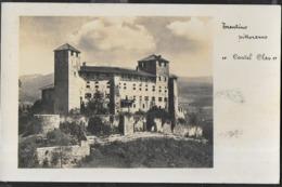 TRENTINO - CASTELLO CLES - PANORAMA - FORMATO PICCOLO - EDIZ. VALENTINI TRENTO - VIAGGIATA 1941 DA LAVARONE-CAPPELLA - Andere Steden