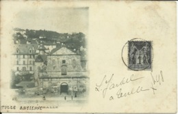 TULLE ANCIENNE , Halle , Carte Précurseur , CPA ANIMEE , 1898 - Tulle