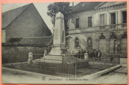 CARTE ARC SUR TILLE - 21 - LE MONUMENT AUX MORTS -SCANS RECTO VERSO-12 - Autres Communes