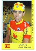 Cartes Postale Cyclisme  Garate Juan Manuel  Champion 2005 - Radsport