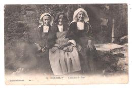 Baud (56 - Morbihan) Costumes De Baud - Tampon Hôpital De Complément 1916 - Militaria - Baud