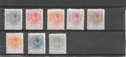 1920: Alfonso N°117,118,119,120,121,123,124,127. (Voir Commentaires) - Rio De Oro