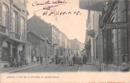 Binche - Rue De La Station, Le Sacré-Coeur - Binche