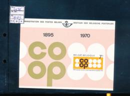 BELGIQUE BELGIUM LUXE SHEET COB LX58 COOP - Luxevelletjes