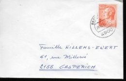 LUXEMBOURG    Lettre  1983  Grand Duc Jean - Poststempel - Freistempel
