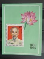 VIETNAM 1985 Y&T N° BLOC N° 20 ** - 95e ANNIV. DE LA NAISSANCE D'HO CHI MINH - Vietnam