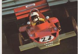 LOTUS 72 ( Carte Format 20 X 15 ) Pilotes Jochen Rindt  Emerson Fittipaldi - Grand Prix / F1