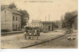 Quéménéven - Vue Générale De La Gare - Other Municipalities