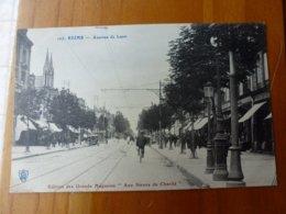 CPA REIMS, AVENUE DE LAON - Reims