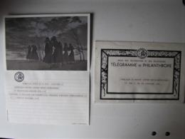 ROYAUME DE BELGIQUE - Télégramme De Philanthropie - Otros