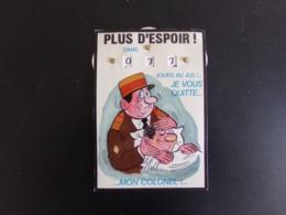 """Carte """" Calendrier De La Classe """" Plus D'espoir Mon Colonel ... - Old Paper"""