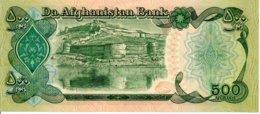 Afghanistan  Billet Banknote -  500 Afghanis - Afghanistan