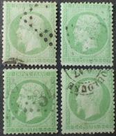 DF50478/653 - NAPOLEON III N°20 - LGC / CàD - (AUCUN AMINCISSEMENT DU PAPIER) - Cote : 40,00 € - 1862 Napoleon III