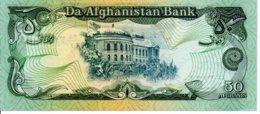 Afghanistan  Billet Banknote -  50 Afghanis - Afghanistan