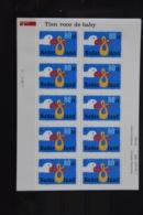 D(A) 099 ++ NEDERLAND NETHERLANDS SHEET 1997 MNH POSTFRIS ** NEUF - Neufs