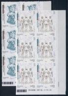 RC 14047 FRANCE N° 633 / 634 SCULPTEUR BOURDELLE ET MAILLOL COIN DATÉ AUTOADHÉSIF COTE 90€ NEUF ** - Adhesive Stamps