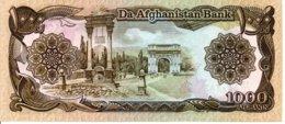 Afghanistan  Billet Banknote -  1000 Afghanis - Afghanistan