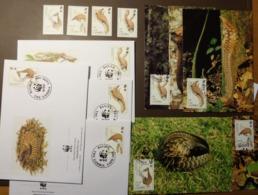 1993 Gambia WWF Pangolin Langschwanz - Schuppentier  #cover4919 - W.W.F.