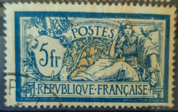 FRANCE 1900 - Canceled - YT 123 - Merson 5F - 1900-27 Merson