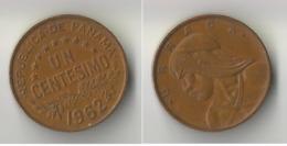 PANAMA 1 CENT 1962 - Panama