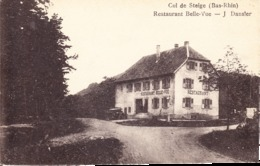67 STEIGE / COL DE STEIGE / RESTAURANT BELLE VUE / J. DANSLER - Frankreich