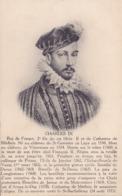 CPA - CHARLES IX - Roi De France - Histoire