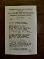 Jub . Honderdjarige Juf . Romnie  SOENEN  Roeselare - Geboorte & Doop