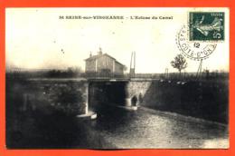 """CPA 21 Sainte Seine Sur Vingeanne """" L'écluse Du Canal """" - Sonstige Gemeinden"""
